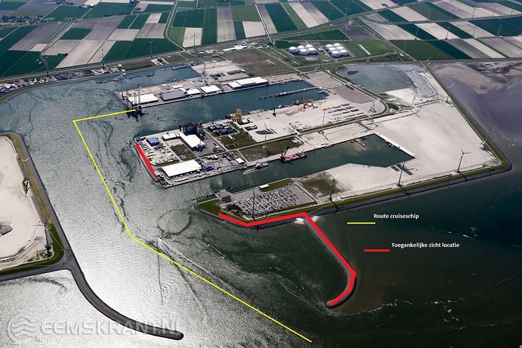 Escape_Uitkijklocatie in Eemshaven