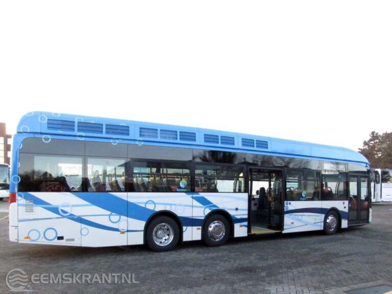 Qbuzz presenteert eerste elektrische bus en waterstofbus