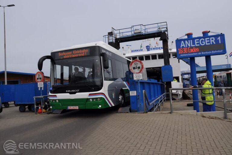 Eerste elektrische lijnbus voor eiland Borkum