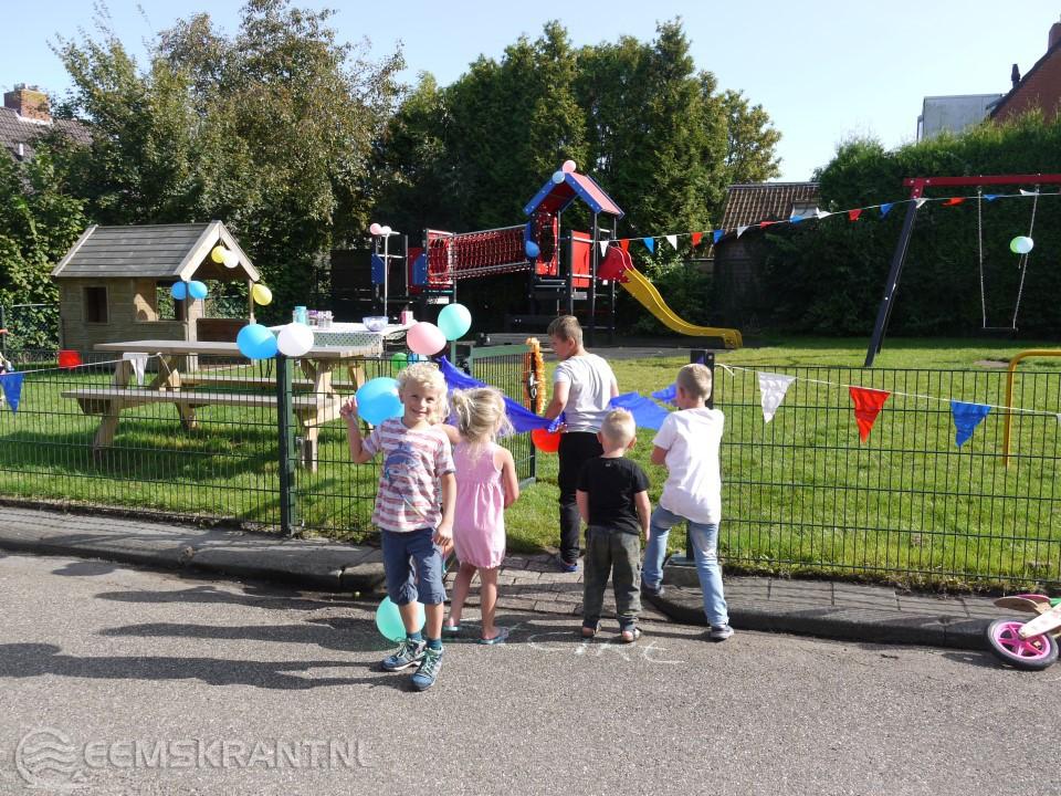 Feestelijke heropening van de Speeltuin in Bierum   Eemskrant